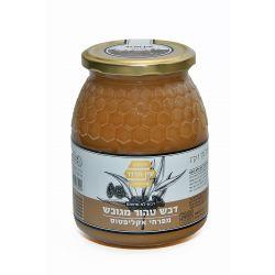 דבש טהור מגובש מפרחי אקליפטוס