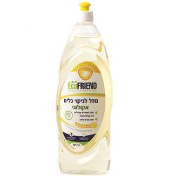 אקופרנד-נוזל כלים 1 ליטר לימון