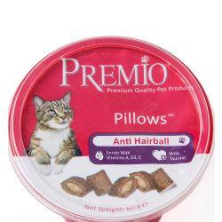 חטיף פרמיו כריות אנטי היירבול לחתולים עם פרווה ארוכה