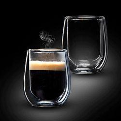 זוג כוסות אספרסו עם דופן כפולה דגם VENEZUELA