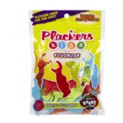 פלקרס חוט דנטלי לילדים עם פלואוריד Plackers Kids Fluoride