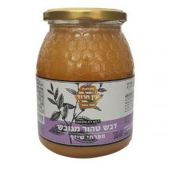 דבש טהור מגובש מפרחי שיזף