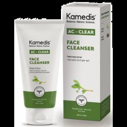 ג'ל ניקוי טיפולי לעור שמן הנוטה לפצעונים | AC - CLEAR FACE CLEANSER