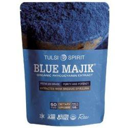 Blue Majik אבקת ספירולינה כחולה אורגנית