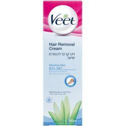 קרם הסרת שיער לעור רגיש