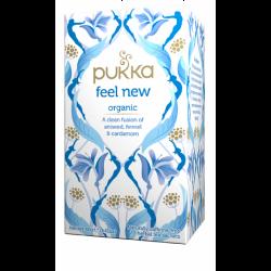 """תה אורגני הרגשה חדשה Feel New (שם קודם: """"תה דיטוקס/תה מטהר"""")"""