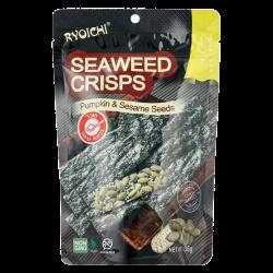 חטיפי אצות ים עם שומשום וגרעיני דלעת
