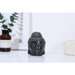 מבער בודהה שחור עם מכסה