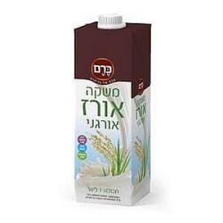 משקה אורז אורגני בתוספת סידן ללא לקטוז