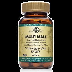 מולטי ויטמין-מינרל לגברים Multi Male Multi Vitamin