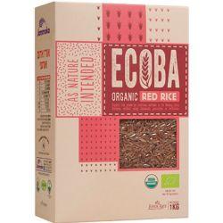 אורז אדום מלא אורגני ECOBA