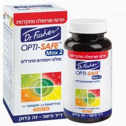 2 OPTI-SAFE Max מולטי ויטמינים ומינרלים