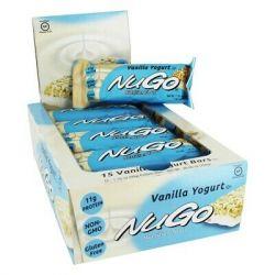 מארז 15 חטיפי נוגו - חטיף אנרגיה עשיר בחלבון  NuGo Nutrition Bars (טעמים לבחירה)