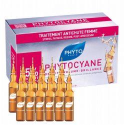פיטוציאן אמפולות טיפוליות לשיער דליל אצל נשים (12 יח') + שמפו מתנה