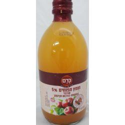 חומץ תפוחים 5% אורגני בתוספת כורכום וקינמון